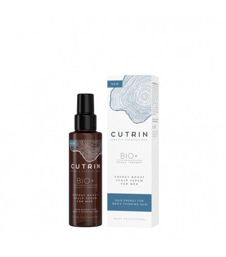 Укрепляющая сыворотка для кожи головы мужчин CUTRIN BIO+ Energy Boost Scalp Serum For - 1