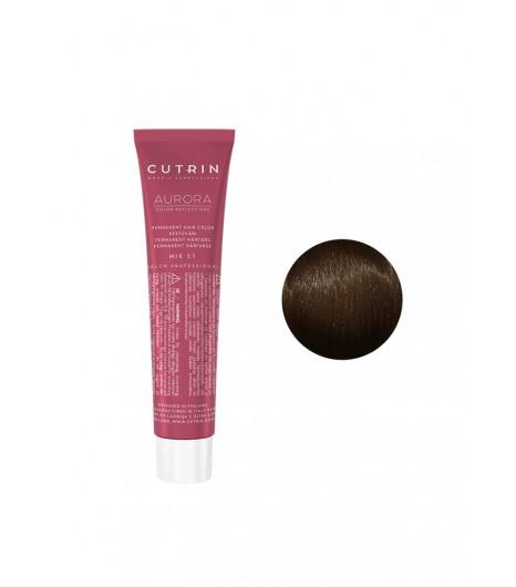 Крем-краска для волос CUTRIN Aurora Permanent Hair Color (Цвет: 4.0 Средне-коричневый) - 1