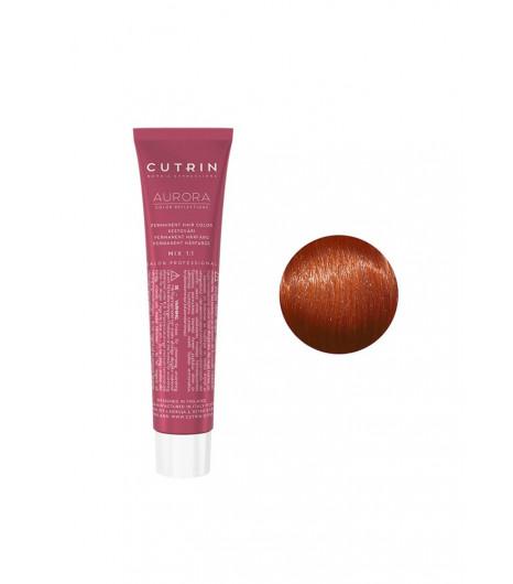 Крем-краска для волос CUTRIN Aurora Permanent Hair Color (Цвет:  7.4 Средний Медный блонд) - 1
