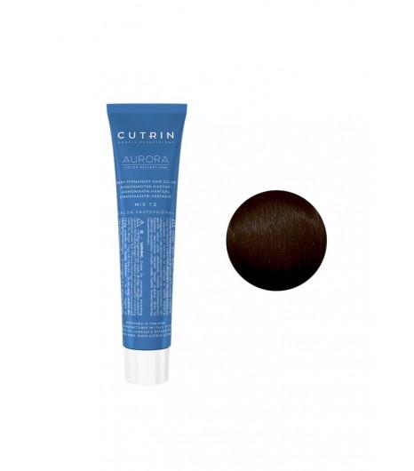 Безаміачна крем-фарба для волосся CUTRIN AURORA Demi (Колір: 1.0 Чорний) - 1
