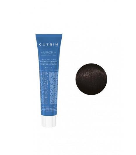 Безаміачна крем-фарба для волосся CUTRIN AURORA Demi (Колір: 4.16 Темний камінь) - 1