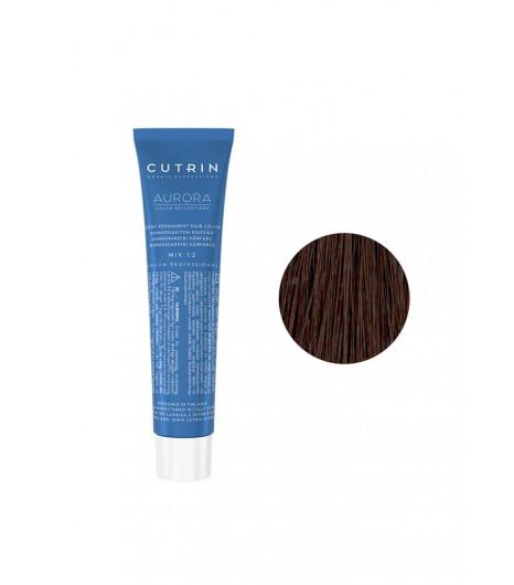 Безаммиачная крем-краска для волос CUTRIN AURORA Demi (Цвет: 6.7 Темный кофе) - 1