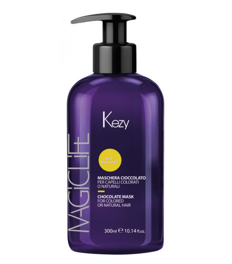 Шоколадная маска для окрашенных или натуральных волос Kezy MASCHERA CIOCCOLATO - 1