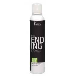 Лак для волос экстрасильной фиксации Kezy HARD TECH