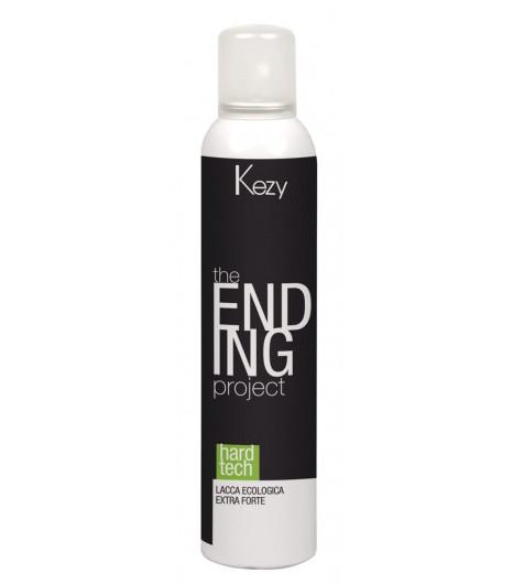 Лак для волос экстрасильной фиксации Kezy HARD TECH - 1
