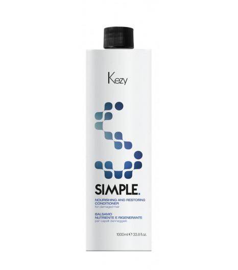 Бальзам для питания поврежденных волос Kezy NOURISHING AND RESTORING CONDITIONER - 1