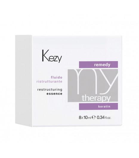Реструктурирующий флюид с протеинами Kezy RESTRUCTURING ESSENCE - 1