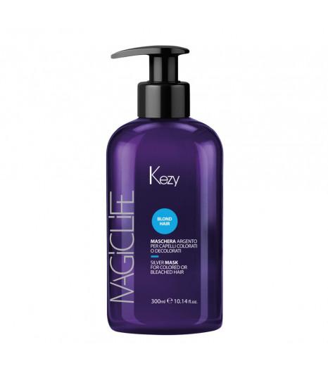 Серебряная маска для окрашенных и осветленных волос Kezy MASCHERA ARGENTO - 1
