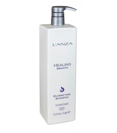 Разглаживающий шампунь для блеска волос L'ANZA Healing Smooth Glossifying Shampoo - 1