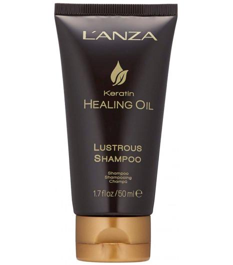 Шампунь для сияния волос L'ANZA Keratin Healing Oil Lustrous Shampoo - 1