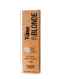Крем-тонер для светлых волос Sens.ùs BLONDE HAIR TONER Caramel Dinner (Цвет: Карамель)
