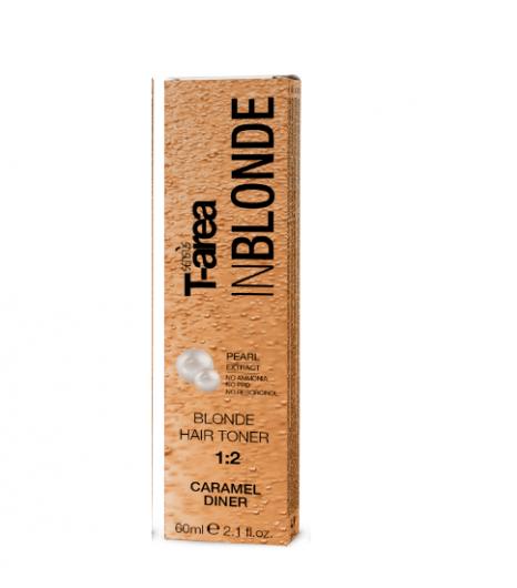 Крем-тонер для светлых волос Sens.ùs BLONDE HAIR TONER Caramel Dinner (Цвет: Карамель) - 1