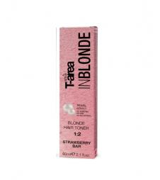 Крем-тонер для светлых волос Sens.ùs BLONDE HAIR TONER Strawberry Bar (Цвет: Клубничный Бар)