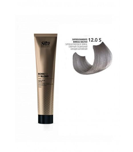 Крем-краска для волос SHOT Born to be BLOND Hair Color Cream (Цвет: 12.0S Северный специальный блонд балтийский) - 1