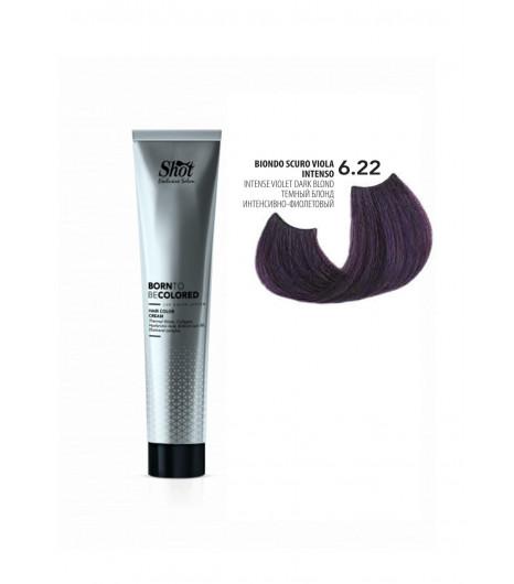Крем-краска для волос SHOT Born To Be Colored Hair Color Cream (Цвет: 6.22 Блонд интенсивно-красный) - 1