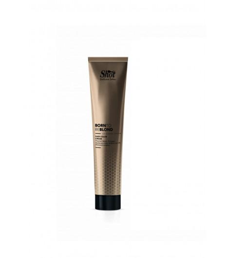 Крем-краска для волос SHOT Born to be BLOND Hair Color Cream (Цвет: 6SV Тёмный блонд серебряно-фиолетовый) - 1