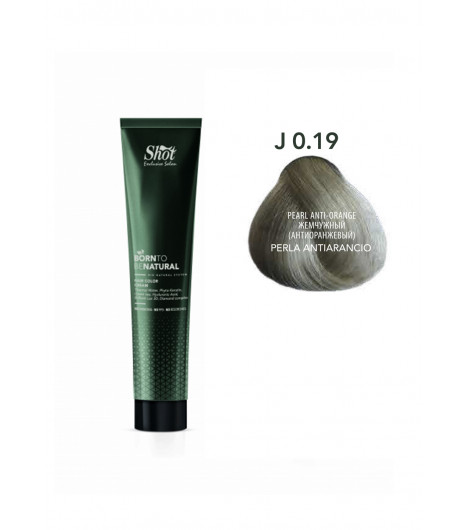 Крем-краска для волос SHOT  Born to be NATURAL Hair Color Cream (Цвет: 0.19J Перламутровый(антижелтый)) - 1