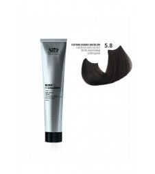 Крем-краска для волос SHOT Born To Be Colored Hair Color Cream (Цвет: 5.8 Светлый-каштановый шоколадный)
