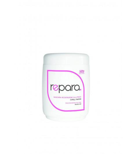 Відновлювальна маска з персиком для пошкодженого волосся SHOT Peach Reconstructive Mask - 1