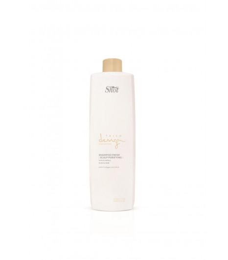 Відновлювальний шампунь для шкіри голови SHOT Trico Design Scalp Purifying Fresh Ice Shampoo - 1