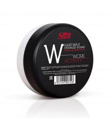 """Воск сильной фиксации с эффектом блеска SHOT Hair Wax Strongly Sound Work Activity """"W"""""""