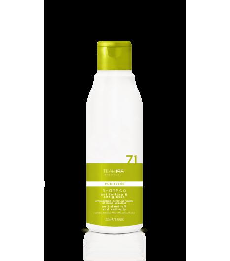 Шампунь против перхоти и для жирной кожи головы Team 155 Puryfing Shampoo Anti-Dandruff & Anti-Oily 71 - 1