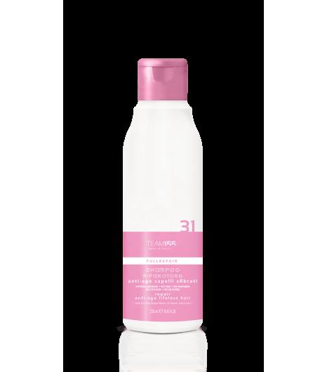 Восстанавливающий шампунь антивозрастного действия для ослабленных волос Team 155 Fullrepair Shampoo Repair Damaged Hair 31 - 1