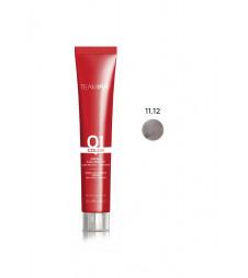 Крем-краска для волос TEAM 155 Color Cream (Цвет: 11.12 Фиолетовый серебристый платиновый блонд)